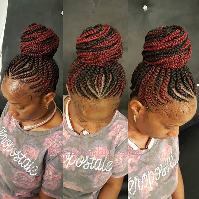 latest ghana weaving hairstyles (3) http://maboplus.com/stunning-ghana-weaving-styles-for-ladies/