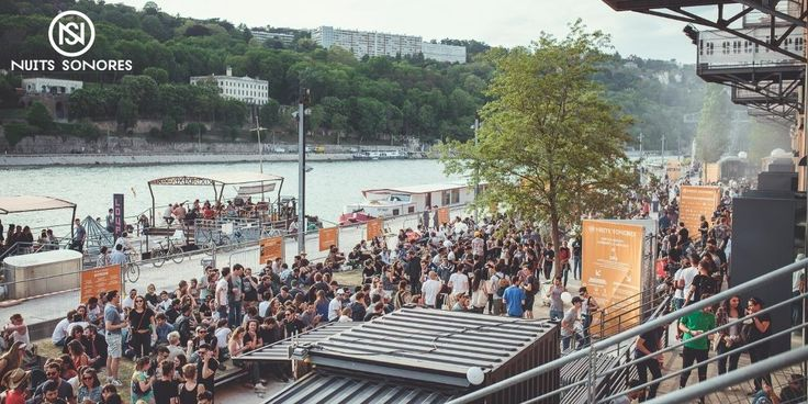 Nuits Sonores is a French festival entirely dedicated to electronic, independent, visual and digital cultures where music, design, graphic arts and architecture are intimately connected. #evlear #events #nuits #sonores #festival #nuitsso2017