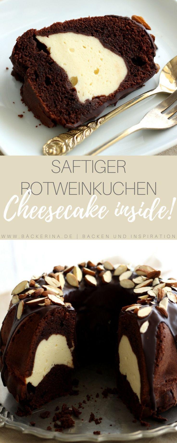 Rotweinkuchen mit Cheesecake-Swirl – #Cheesecake #rotweinkuchen #swirl – #new de5f5f9fd368eb003d21d8652f8408d9