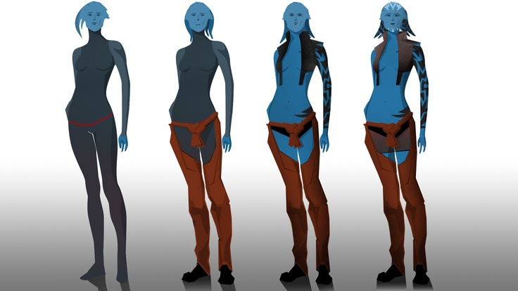 """Some Space People Concepts. Nothing Final Just some """"Twilari"""""""