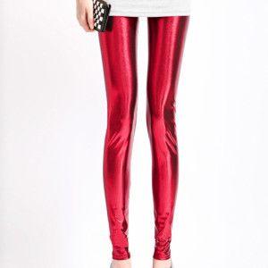 Sexy Trendy Metallic Leggings