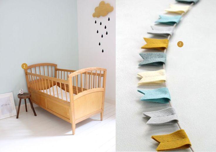 Babykamer mosterdgeel