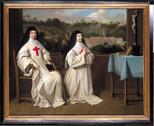 Portrait de la mère Angélique et de la mère Agnès Arnauld, Magny-les-Hameaux