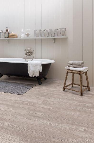 parquet clipsable en lames pvc quick step livyn balance click pin moderne gris - Laminatboden Pro Und Kontra 2014
