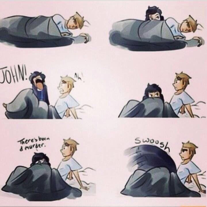 *chuckles* The whoosh.. Ohhh Sherlock, lol