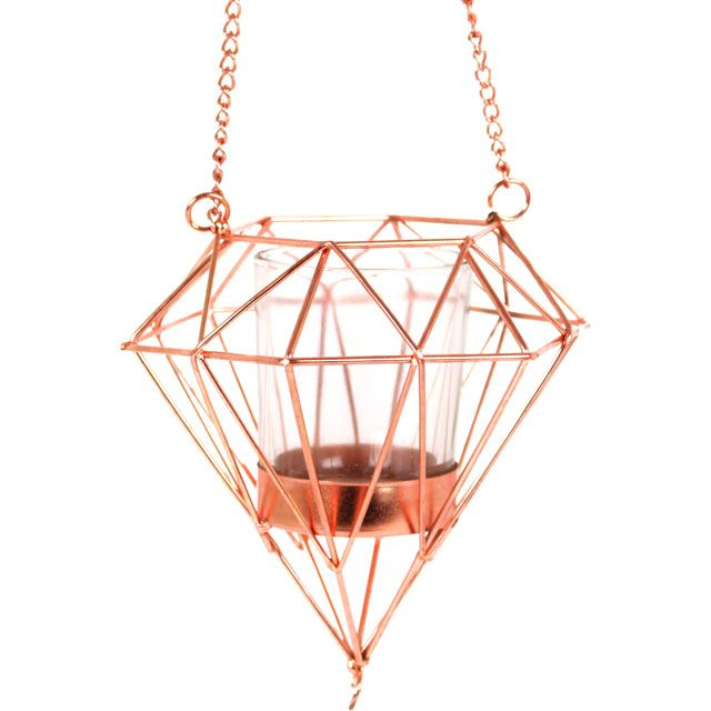 Wholesale Hanging geometric candle holder - Something Different