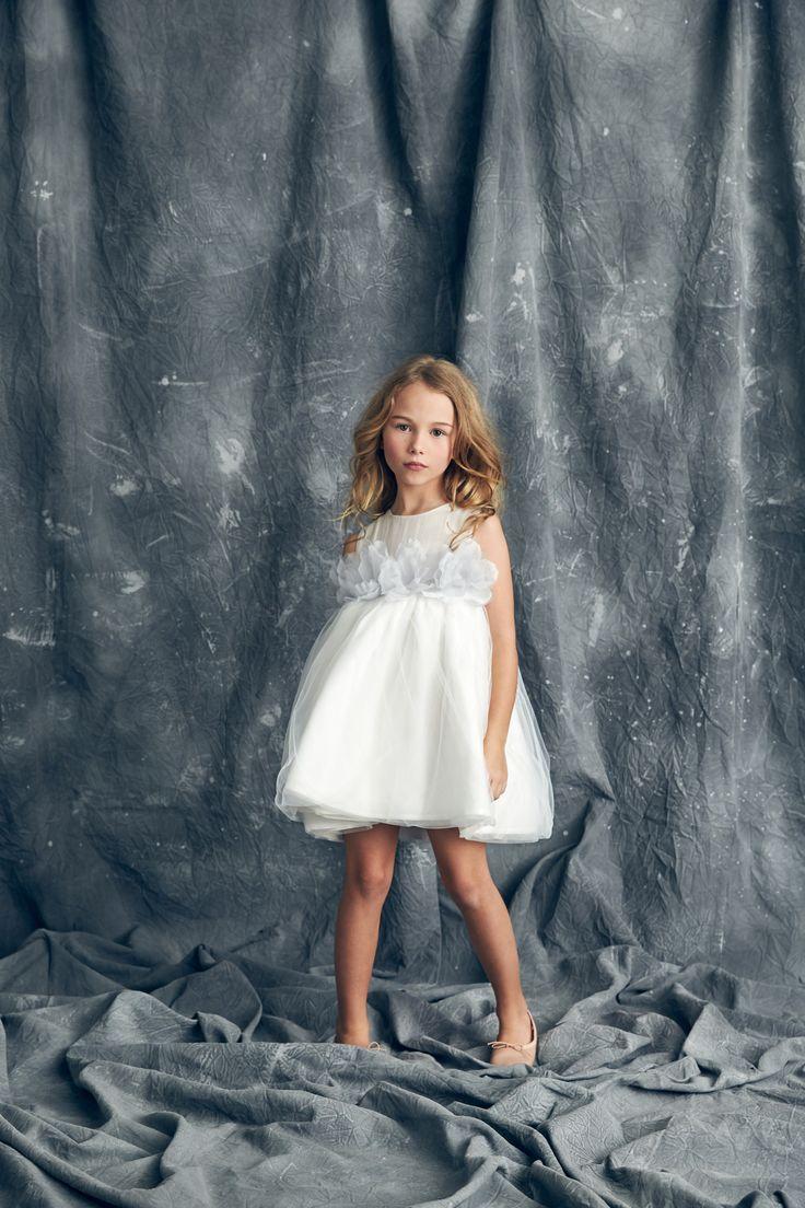 Nellystella Love Blossom Dress White