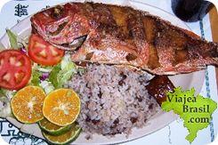 Pargo asado, es un tipo de pez que constituye un platillo típico en Brasil, generalmente se come asado, aunque existen varios modos de prepararlo.