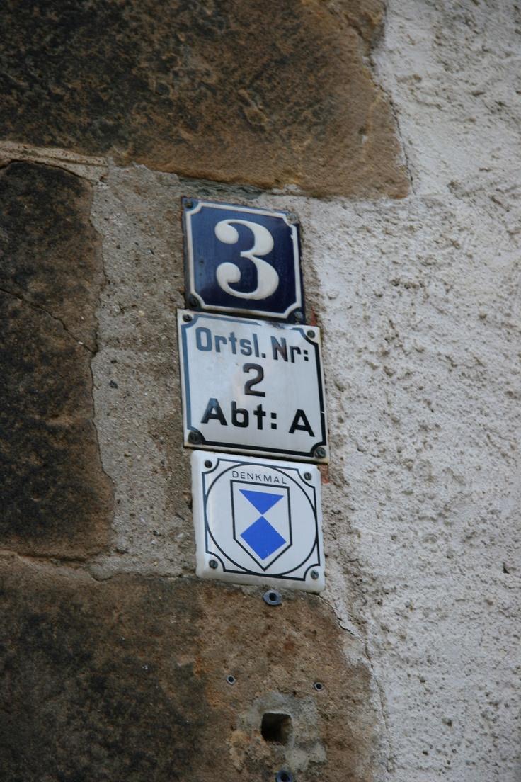 Germany Dresden building number