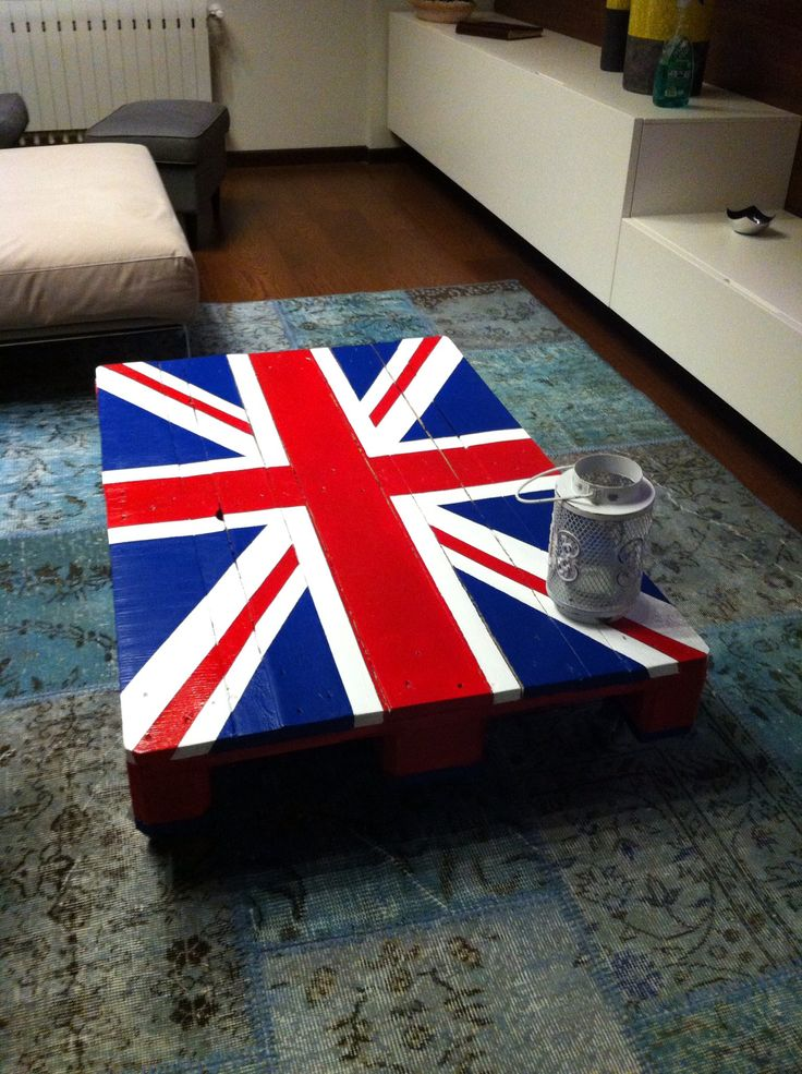 Coffee table pallet