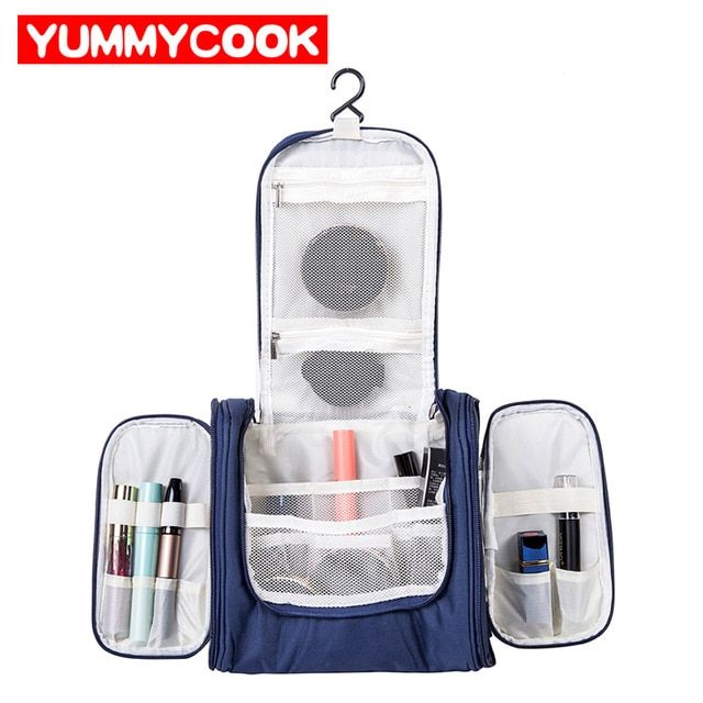 764afe43ec60 Women's Men's Cosmetic Bag Case Beauty Product Makeup Organizer ...