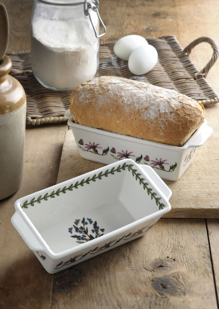 Portmeirion Botanic Garden Rectangular Bakers set of 2 - Botanic Garden - Portmeirion UK