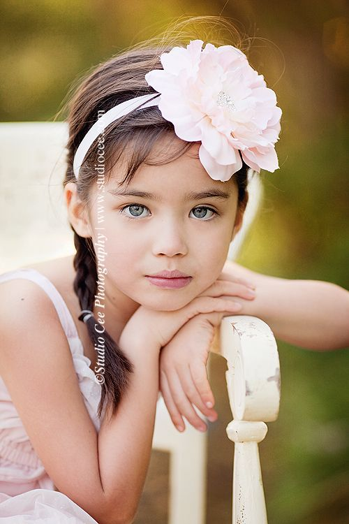 simple pose for little (or not so little) girls. Childrens Portraits , Childrens pictures