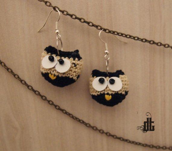 black & white owls