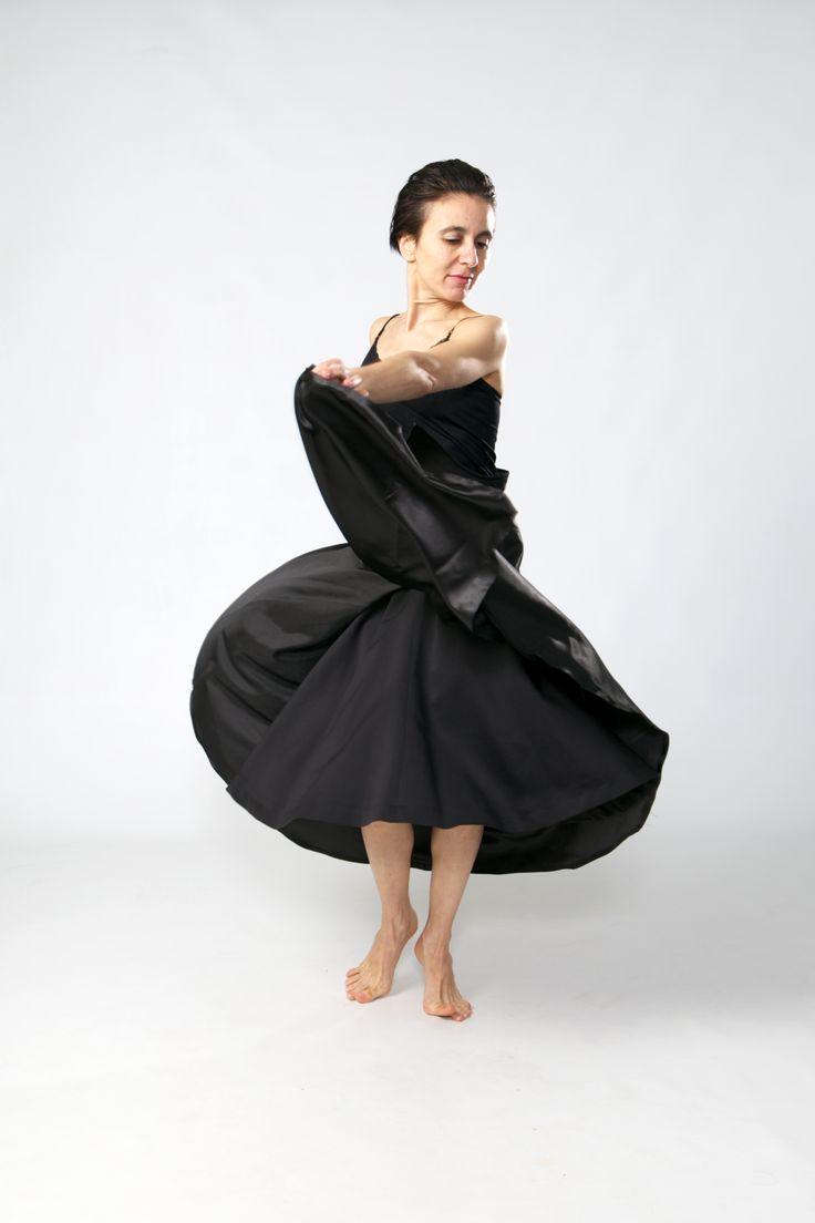 Design/ Skirt LINA. Model/ Dancer Inma Pavon. Photo/ Ankie Janssen.