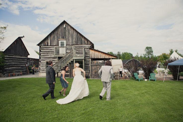 Ottawa garden wedding