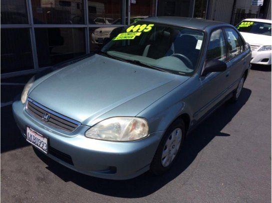 Sedan, 2000 Honda Civic VP Sedan with 4 Door in Folsom, CA (95630)