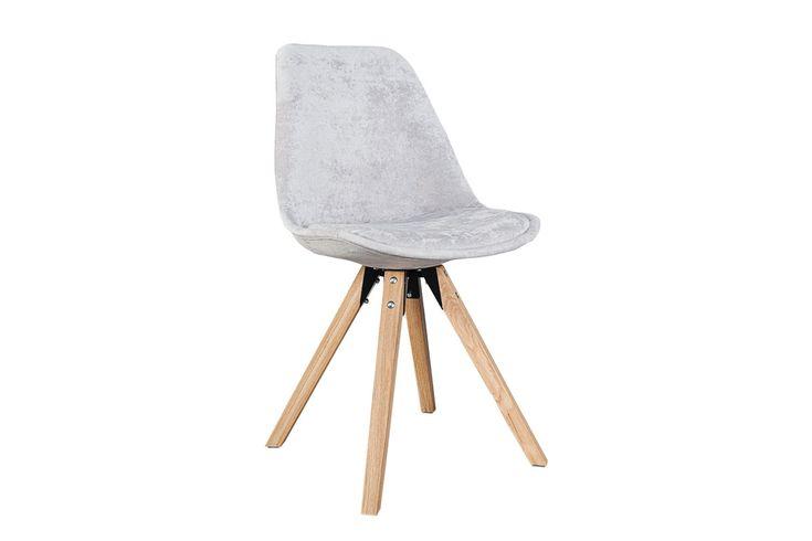 Krzesło Astoria New szare (tkanina)