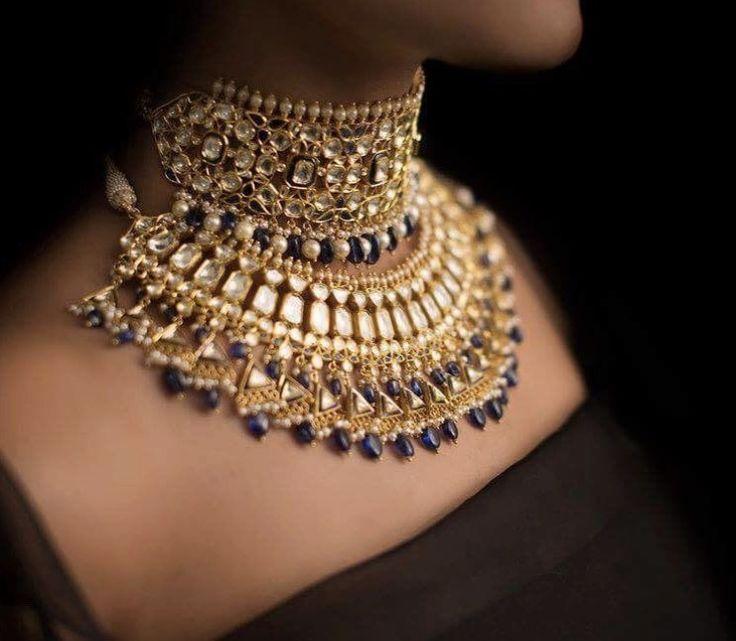 But beautiful kundan jewelry