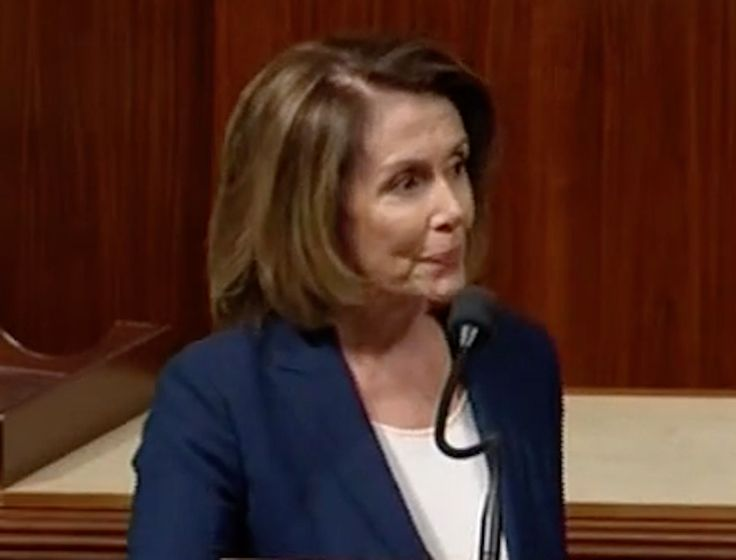 """I know you don't want the public to hear this."" Pelosi shames GOP rep trying to silence her 