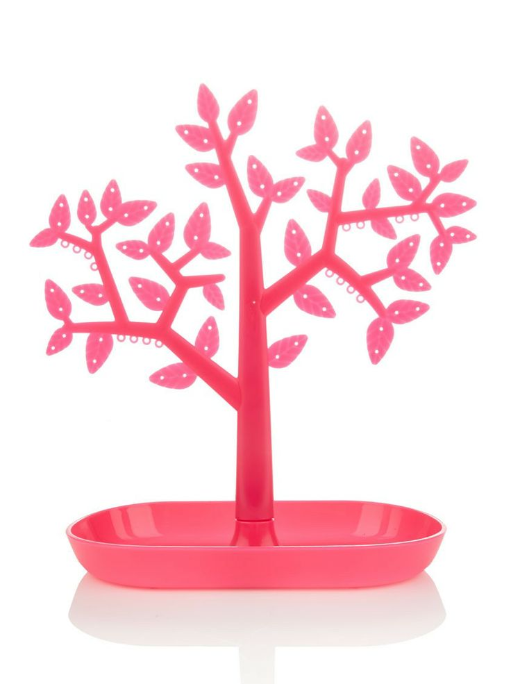 Tree Shaped Earring Holder | This tree holder displays and organizes all of your favorite earrings. Great for displaying studded, hoop, drop or dangle earrings.