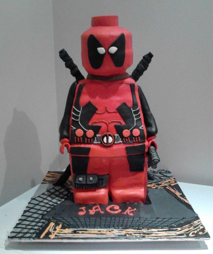 Lego Shop Birthday Cake