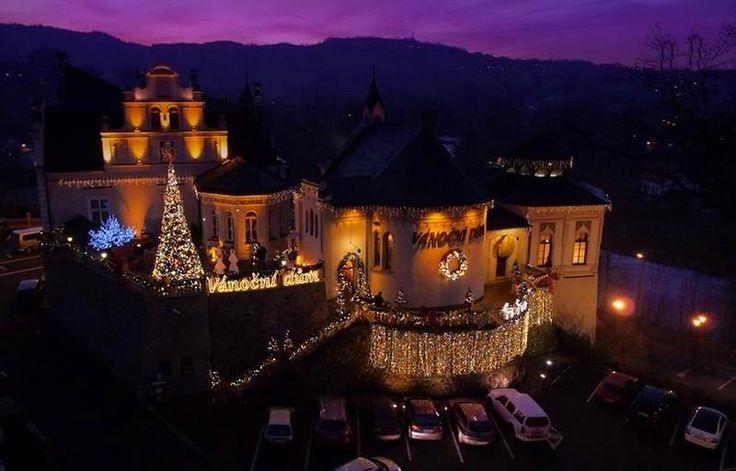 Vánoční dům, Zámeček Doubí, Karlovy Vary