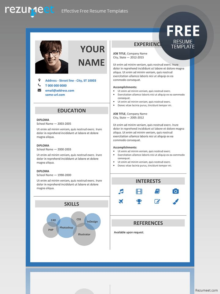 Best Resume  Cv For Powerpoint Images On