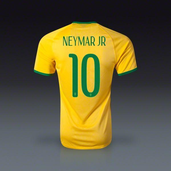 #Nike #Neymar #Brasil Authentic #Jersey #2014 #fifa #worldcup #copamundial #coupedumond #soccer #football