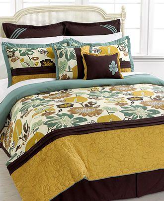 melrose 8 piece comforter set sale bed in a bag bed bath macy 39 s master bedroom re do. Black Bedroom Furniture Sets. Home Design Ideas