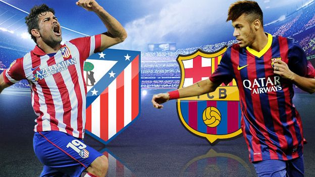 Barcelona vs. Atletico Madrid 2016 Preview - https://movietvtechgeeks.com/barcelona-vs-atletico-madrid-2016-preview/-After the conclusion of 21 weeks of football in the Spanish top flight Barcelona and Atletico Madrid have 48 points each as they occupy the first and second spots respectively.