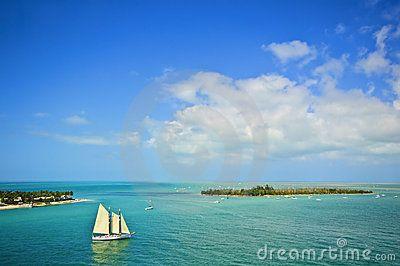 Острова и парусник, Флорида-Кис
