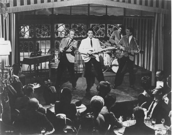 Girl Happy = 1965 4 14 - Gary Crosby, Elvis, Joby Baker et Jimmy Hawkins