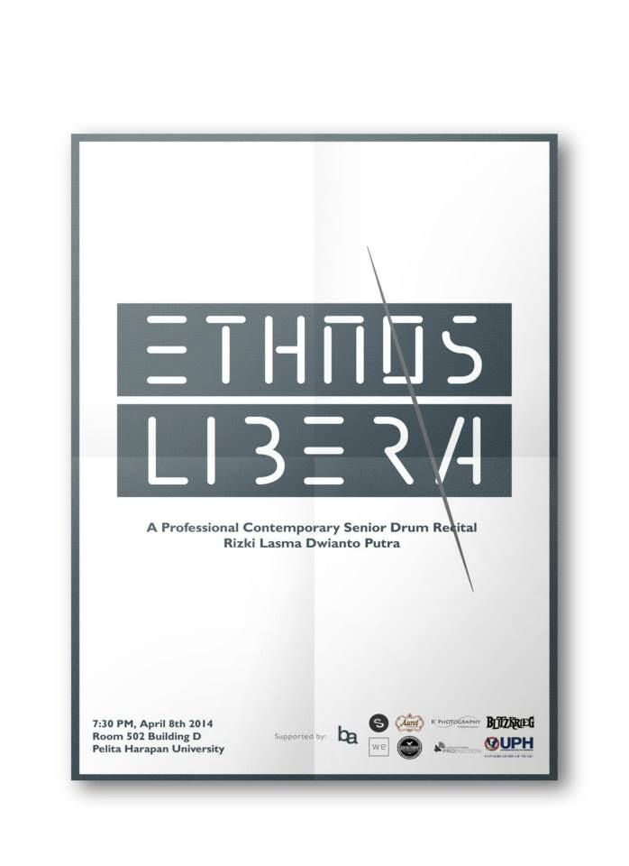 One of the designs for Ethnos Libera