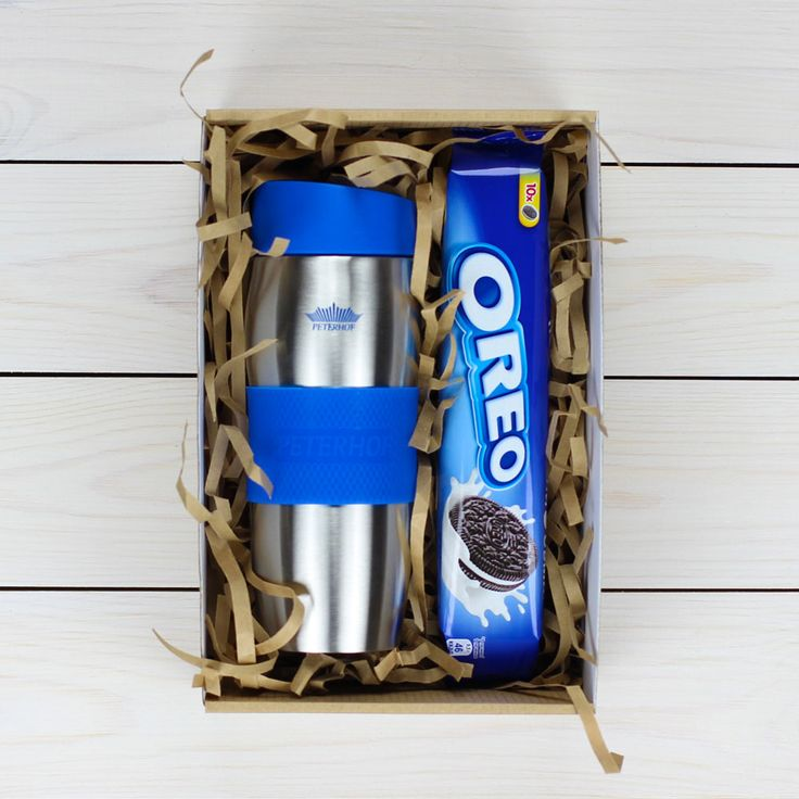 Подарок печенье OREO + термокружка