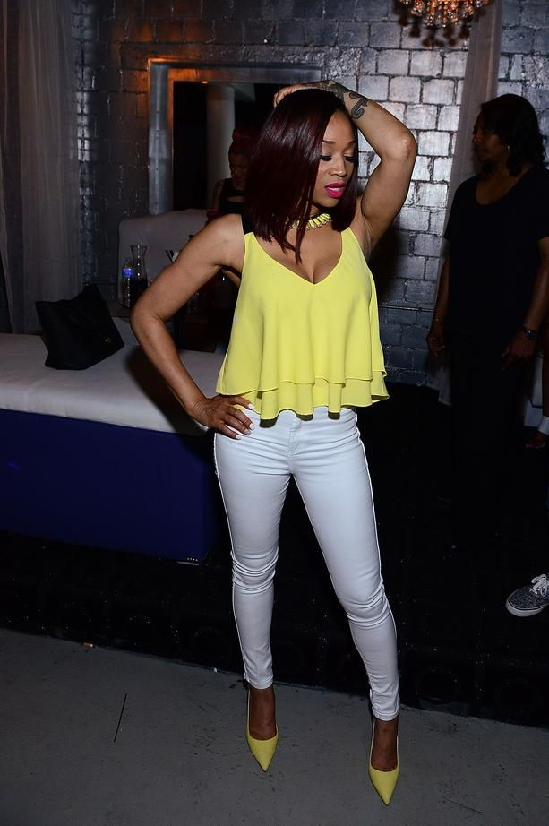 Recent photos of Mimi taken at the 'Love & Hip Hop: Atlanta' season 3 premiere party certainly are no indication of pregnant woman... Read more at: http://www.allaboutthetea.com/2014/05/16/is-love-hip-hops-mimi-faust-pregnant-with-nikkos-baby/