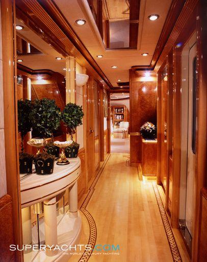 Custom Yacht Interior Design | Luxury Motor Yacht CV9 by Delta Marine