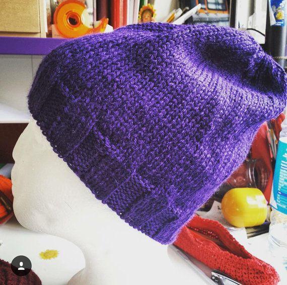 Guarda questo articolo nel mio negozio Etsy https://www.etsy.com/it/listing/268974402/violet-beanie-soft-warm-cute-fashion