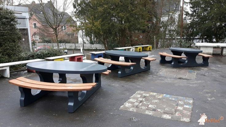 Picknickset DeLuxe Antraciet Ovaal bij Theodor-Heuss-Schule in Limburg