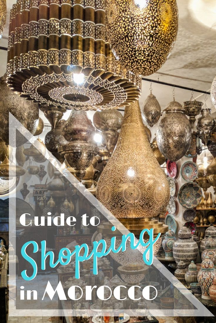 1434f156d A guide to shopping in Morocco! If you're planning a trip to Morocco and  wondering what to buy, what to pay, and how to negotiate, we've got you  covered!