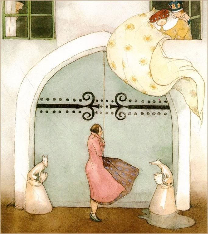 Artodyssey: Lisbeth Zwerger (watercolor, pen & ink)