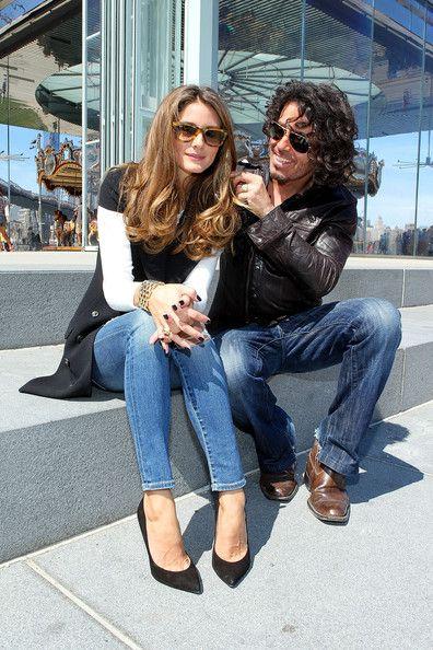 Olivia Palermo - Mark Hill Styles Olivia Palermo For Fashion Week