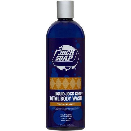 Jock Soap's Tackle Me Liquid Jock Soap Total Body Wash 16 oz./475 ml by Jock Soap. $22.00. Improves your skin's clarity and texture. Softens, soothes and hydrates your skin as it cleanses. Sulfate-free. Generates an exceedingly rich lather. Acts as a shower gel, bubble bath, or a gentle-cleansing shampoo (safe for color-treated hair). Pure, natural cleansers from moisturizing Coconut and Sugar are blended with Certified Organic Aloe, Lavender, Verbena and Orange,...