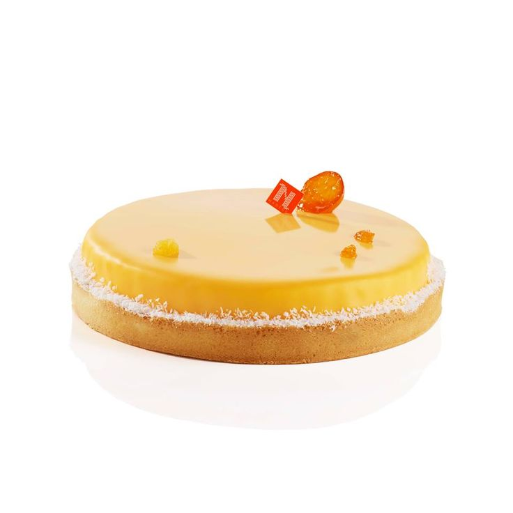 Le Soleil D'Automne [Passionfruit & mango mousse, kumquat marmalade, passionfruit & mango coulis and coconut mousse] | Nadège Patisserie