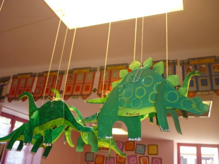 Ecoles de Souzy la Briche et Villeconin - Des dinosaures chez les maternelles…