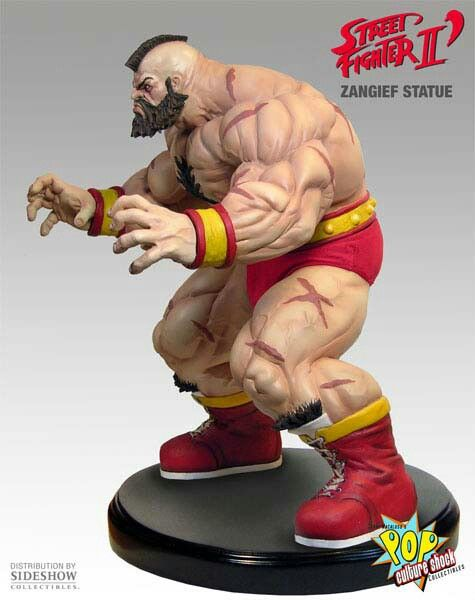 Zangief Street Fighter Character Statue Fighter