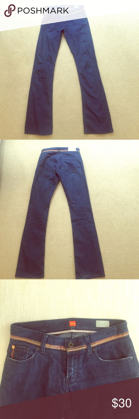 Selling this Hugo Boss Boot Cut Jeans Size 27 on Poshmark! My username is: mohnyc. #shopmycloset #poshmark #fashion #shopping #style #forsale #Hugo Boss #Denim