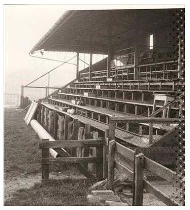 Oude hoofdtribune SC Heerenveen