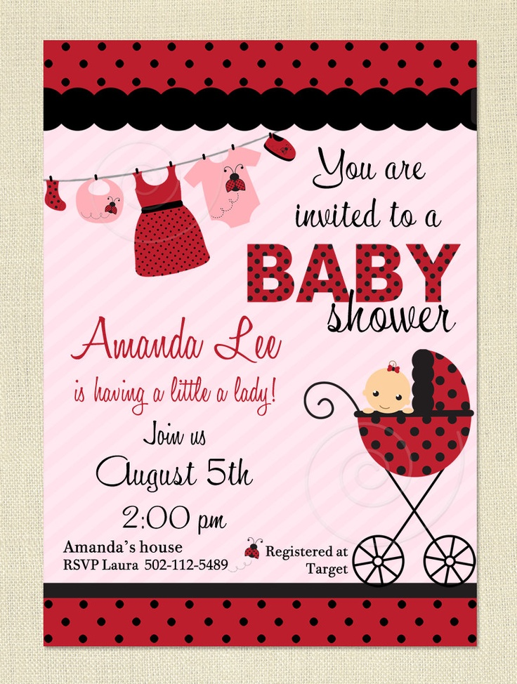100 best ~ LadyBug Theme Baby Shower ~ images on Pinterest ...