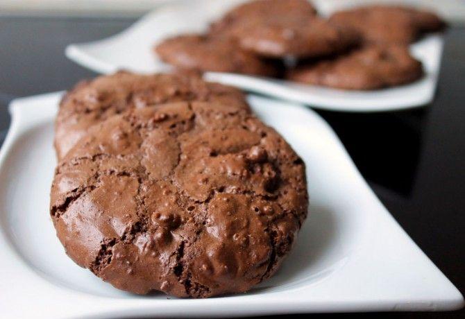 Csokis habcsók-süti